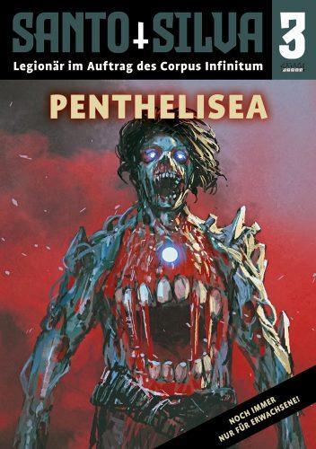Cover: Jamie Eckhart: Santo Silva 3 - Penthelisea